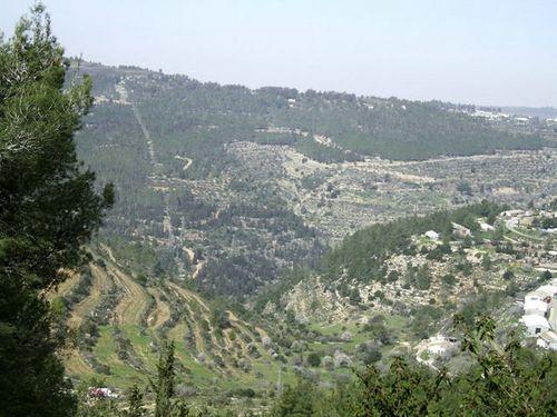 Montagne di Gerusalemme