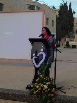 Il Sindaco di Betlemme, Vera Baboun