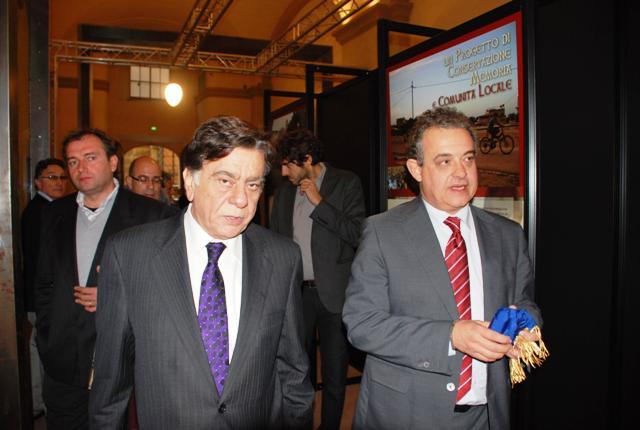 L'ambasciatore palestinese con Andrea Barducci