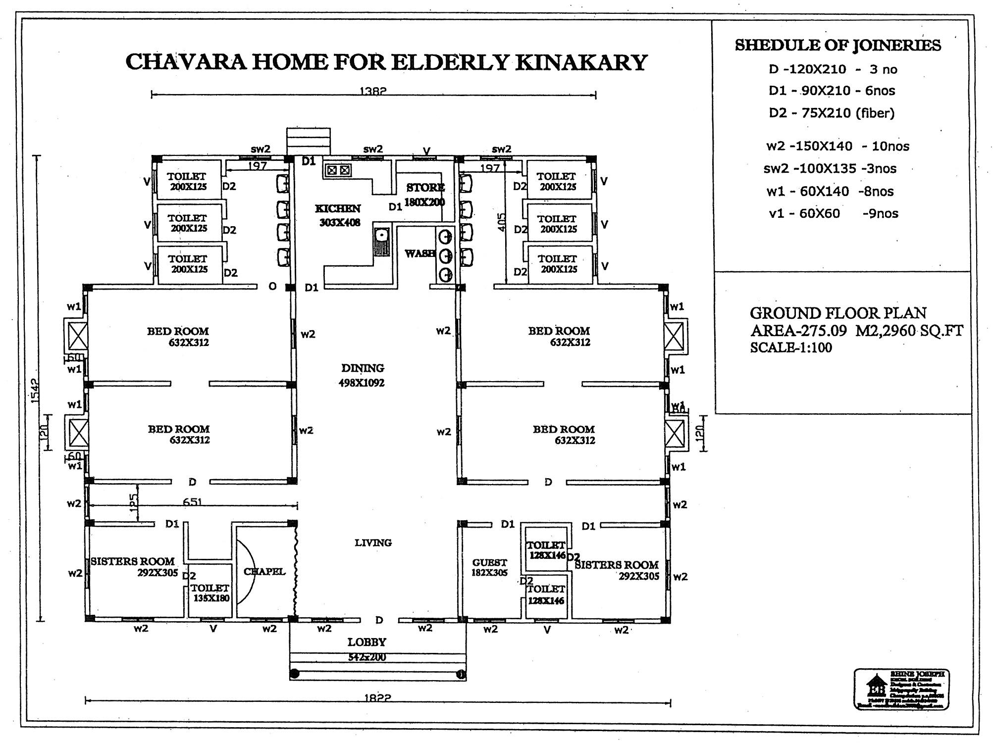 Chavara Home (planimetria)-