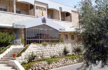 L'istituto Effetà di Betlemme