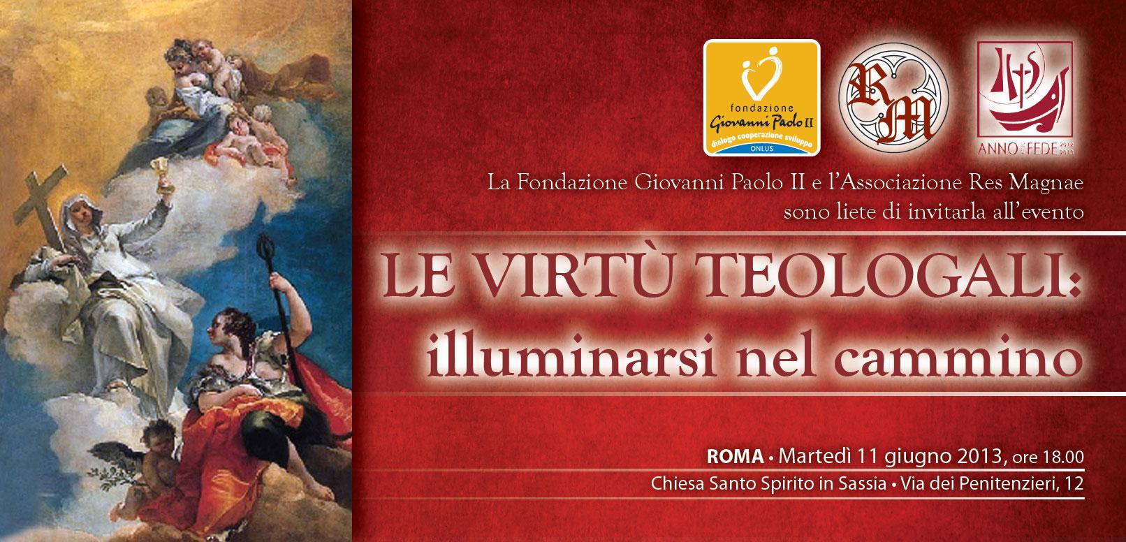 Le virtù teologali (1)