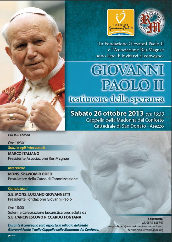 Giovanni Paolo II testimone della speranza