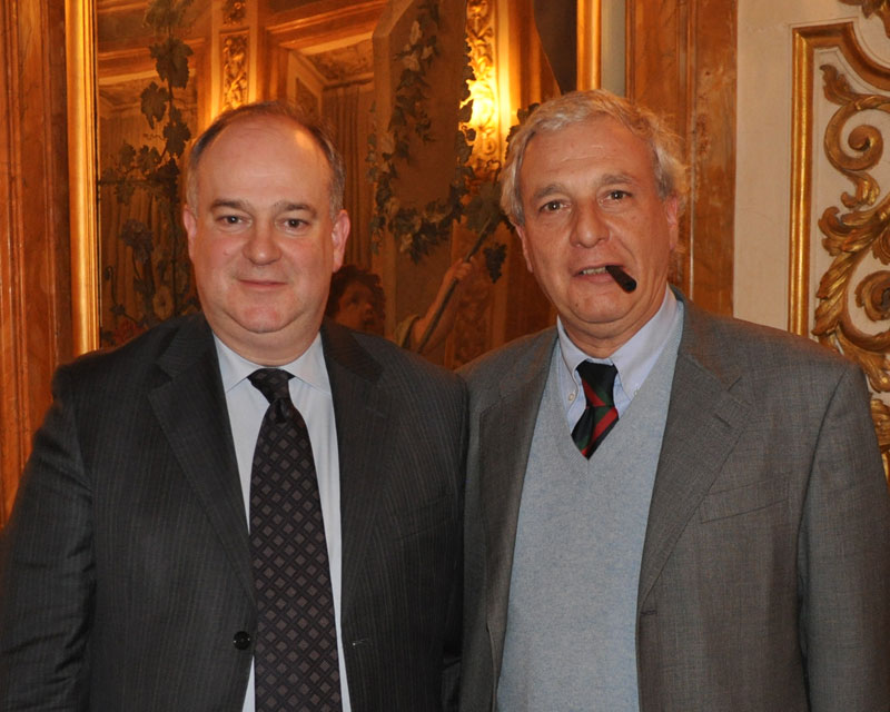 I fratelli Riccardo e Renato Burigana