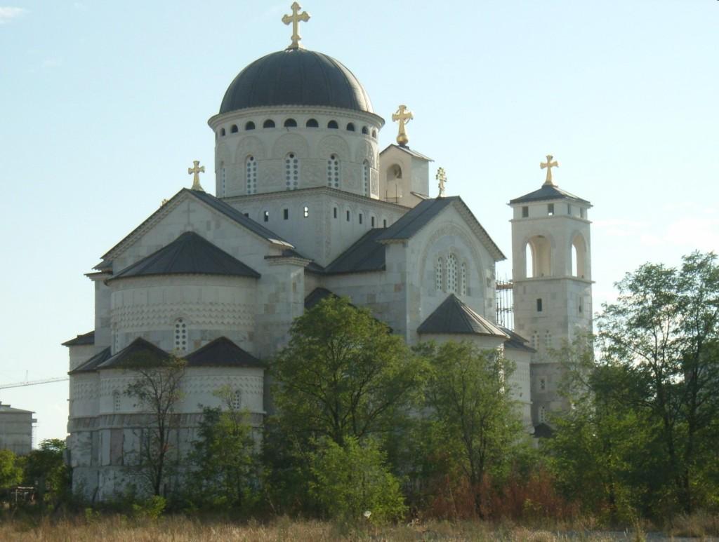 Podgorica, chiesa della «Resurrezione di Cristo»