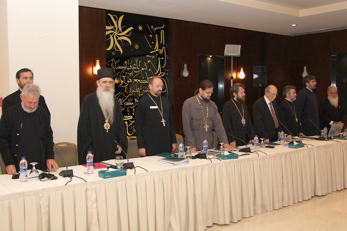 È iniziata nella capitale giordana il 16 settembre 2014 la XIII sessione della Commissione mista internazionale per il dialogo teologico tra le Chiese ortodosse e la Chiesa cattolica romana