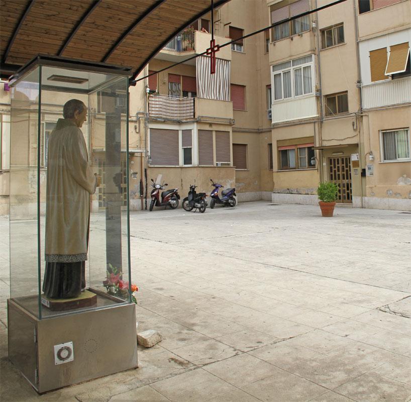 Piazzale Anita Garibaldi a Palermo