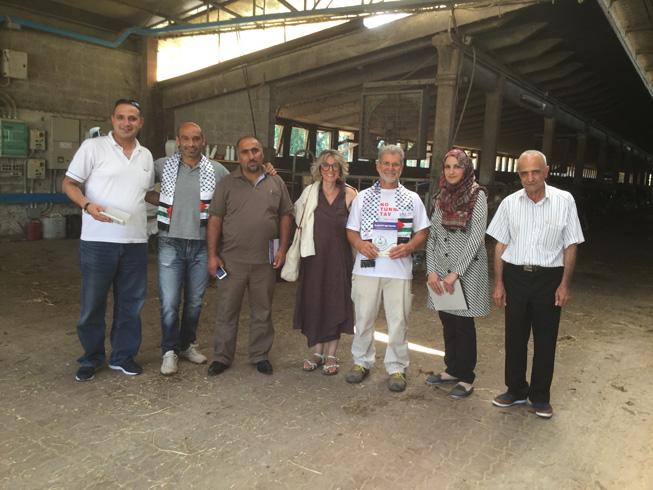 Delegazione palestinese (5)