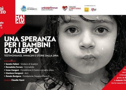 Una speranza per i bambini di Aleppo