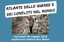 Conferenza: Atlante delle guerre e dei conflitti del mondo