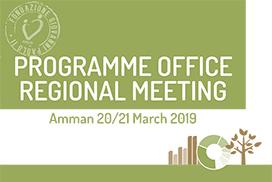 PROGRAMME OFFICE REGIONAL MEETING Amman 20/21 Marzo 2019